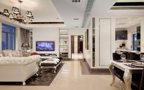 白色走廊装潢图片