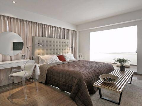 2018简约客厅装修设计 2018简约床装修效果图片
