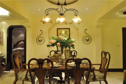 海花苑两居室美式家装效果图