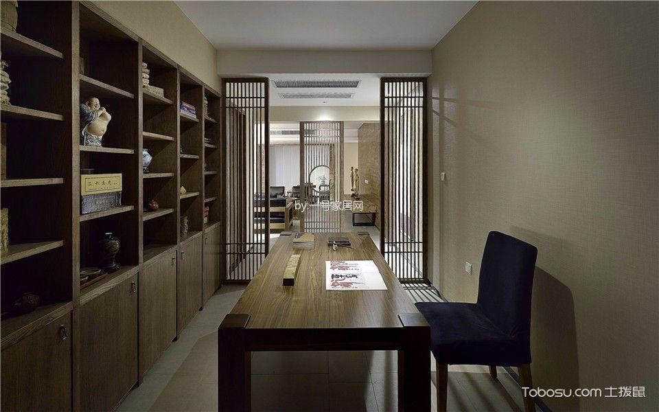 海泊兰轩167平四室两厅中式效果图
