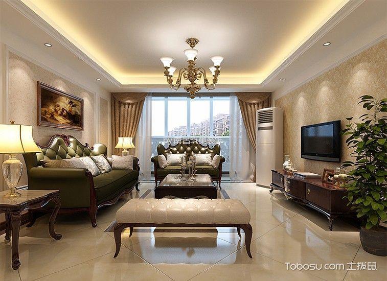 国博城三居室古典风格效果图