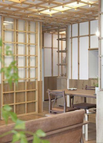 新华明珠二居室日式风格装修效果图