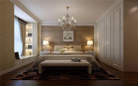 卧室白色飘窗欧式风格效果图