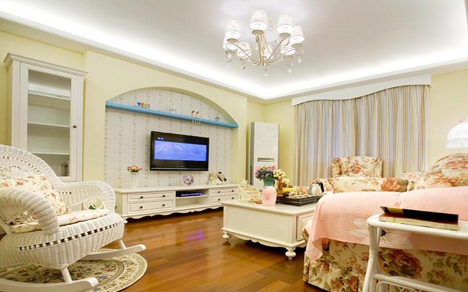 2室2卫2厅100平米田园风格