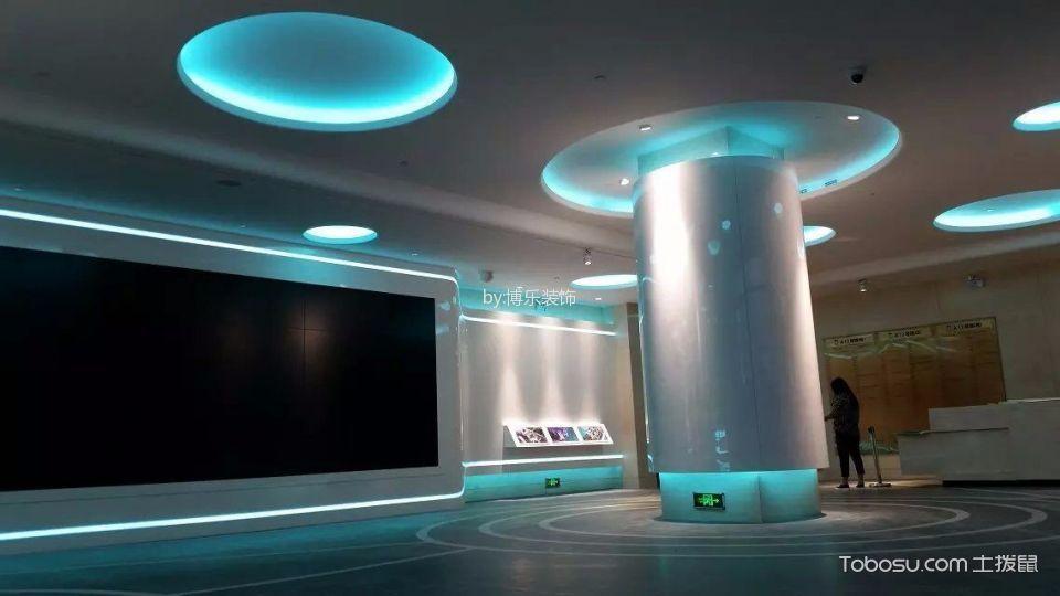 舟山海洋城展厅地板装修效果图