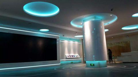 舟山海洋城展厅工装效果图