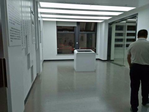 诸暨供电局展示厅办公室装修效果图