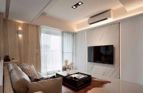 理想康城国际简约风格三居室效果图