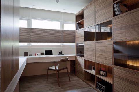 书房吊顶现代简约风格装修效果图
