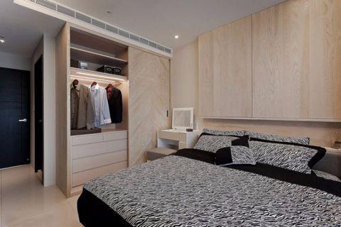 卧室吊顶现代简约风格装饰效果图