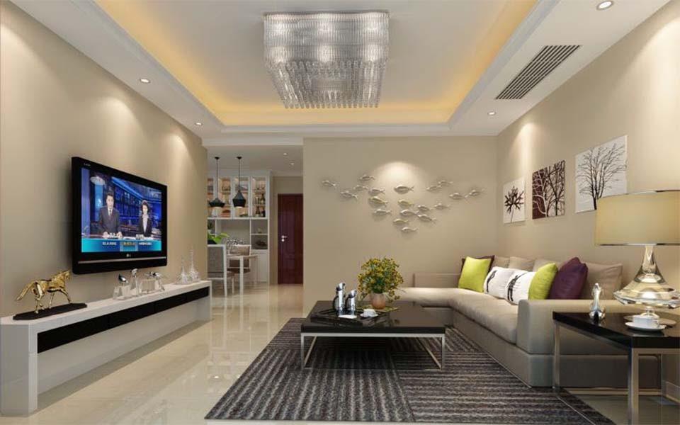 2室1卫1厅84平米简欧风格