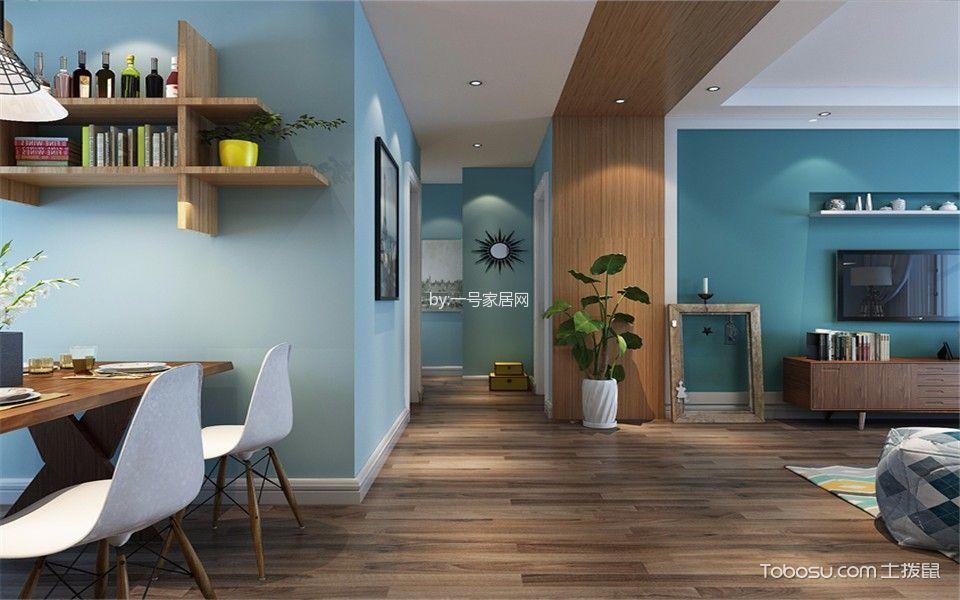 泰宏建业89平两室两厅北欧风格案例