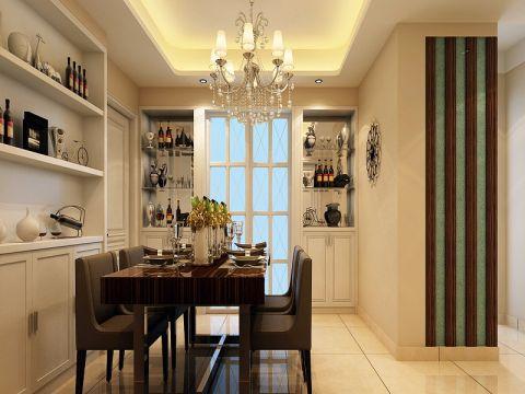 餐厅门厅现代简约风格效果图