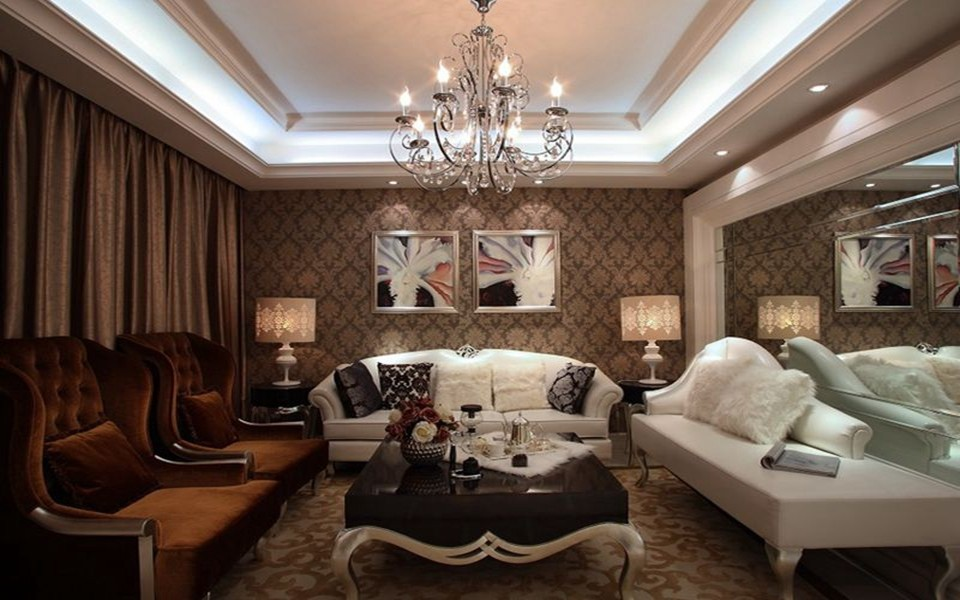 3室2卫2厅120平米简欧风格