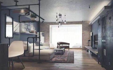 后现代风格110平米两室两厅新房装修效果图