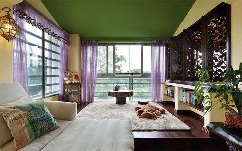 南国明珠二居室东南亚风格装修效果图