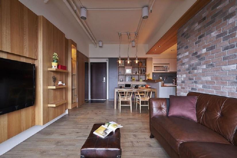 3室2卫1厅116平米后现代风格