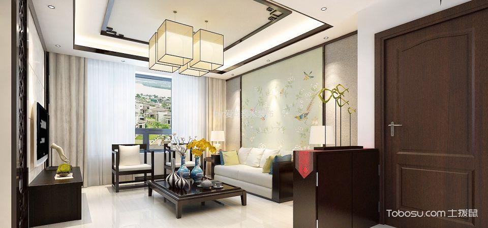 2020中式客厅装修设计 2020中式灯具图片