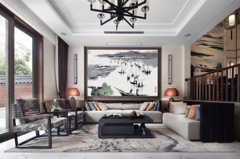 2020中式240平米装修图片 2020中式别墅装饰设计