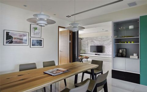 2021现代简约120平米装修效果图片 2021现代简约公寓装修设计