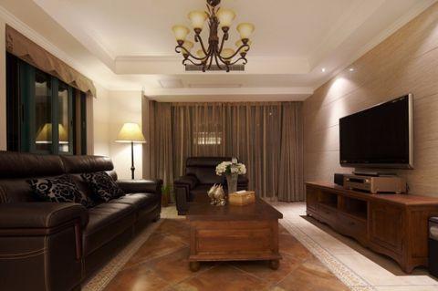 2021中式120平米装修效果图片 2021中式三居室装修设计图片