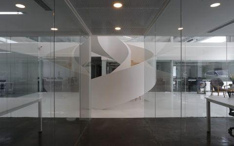 朝阳大悦城2800平米写字楼装修效果图