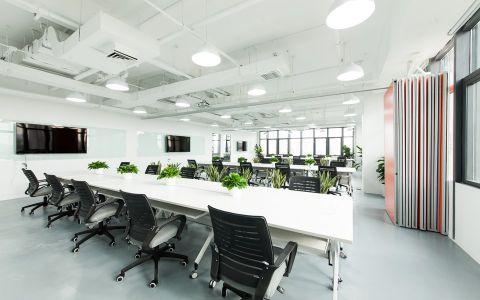 北京趣分期4000平米写字楼工装效果图