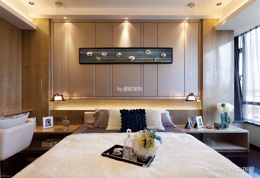 金新御园180平米现代简约风格三居室装修效果图