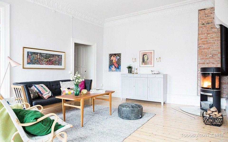 地华里100平米现代简约风格三居室装修效果图