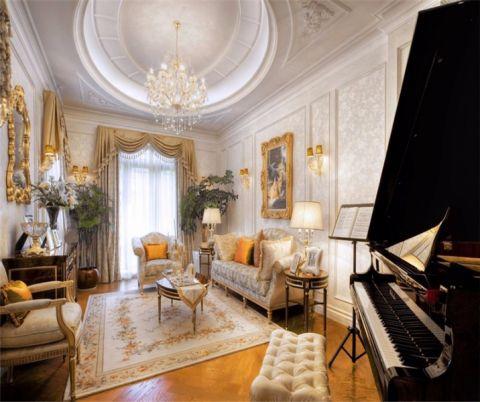 法式U乐国际340平米别墅室内u乐娱乐平台优乐娱乐官网欢迎您