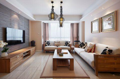 元茂欣苑120平米简中风格三居室装修效果图