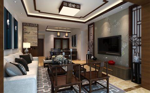 未来方舟中式风格三居室效果