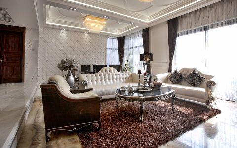 紫廷名苑261平米欧式风格别墅装修效果图