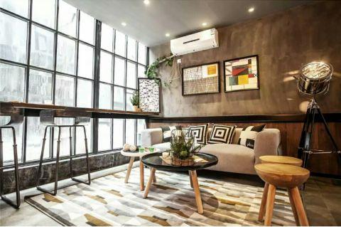 ZAMA PARK 50平米Loft北欧风格单身公寓装修效果图