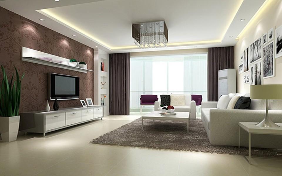 2室1卫2厅100平米现代简约风格