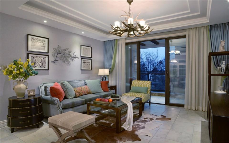 3室2卫2厅130平米混搭风格