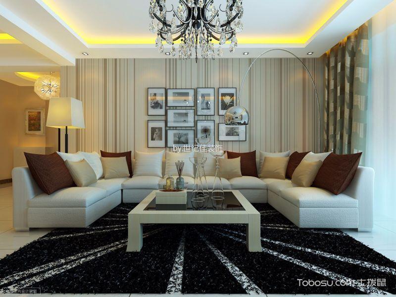 华润紫阳里两居室现代简约风格效果图