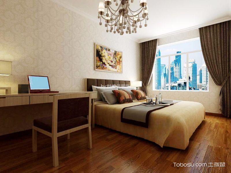 中信城市广场三居室现代欧式风格效果图