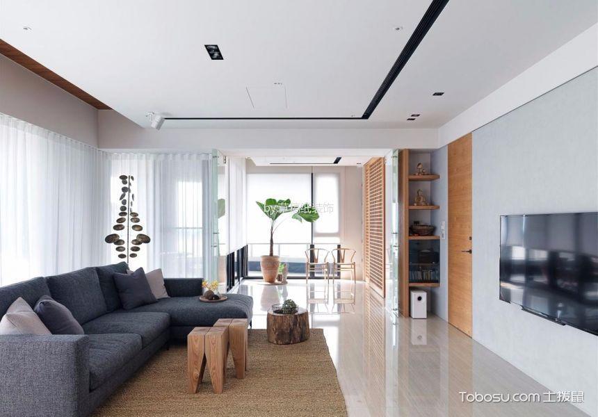 航天常青园150平米现代简约风格四居室装修效果图
