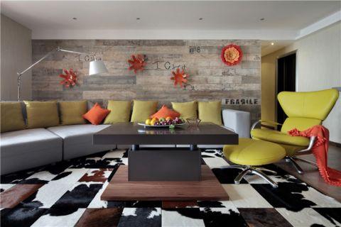 中旅紫金名门250平米混搭风格二居室装修效果图