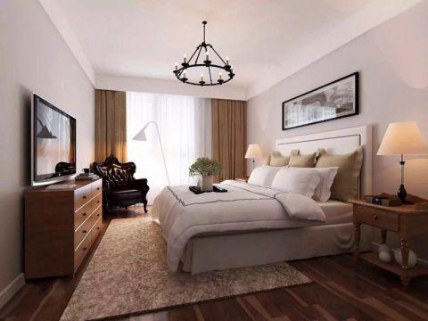 湖港名城120平米日式风格三居室装修效果图