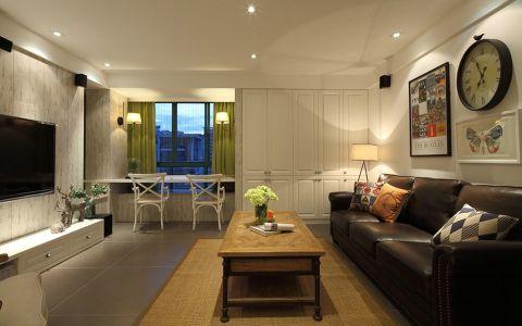 香溢澜桥150平米美式风格四居室装修效果图