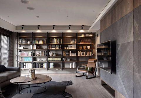 恒大帝景170平米现代简约风格四居室装修效果图