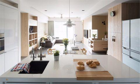 2021现代70平米装修效果图大全 2021现代二居室装修设计