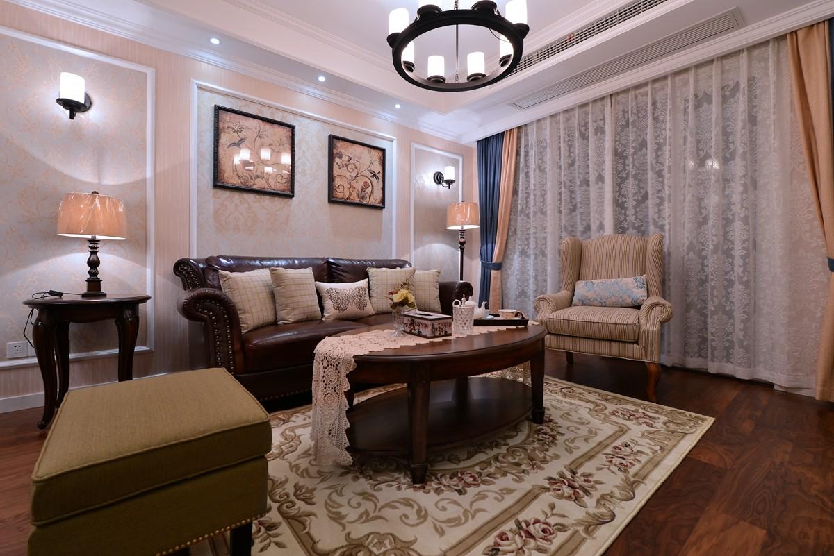 3室1卫2厅108平米美式风格