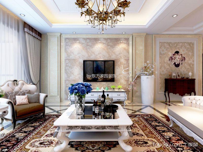 香港丽都国际120—180平米简欧三房两厅装修效果图