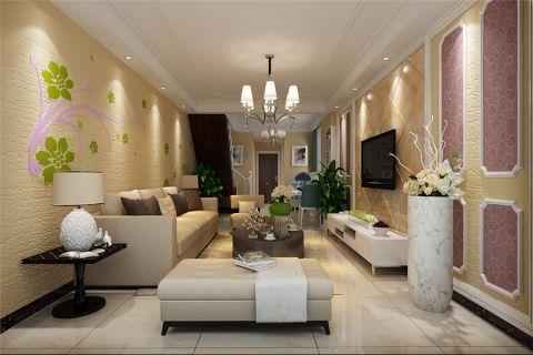 翡翠花园简欧风格复式楼层设计效果图