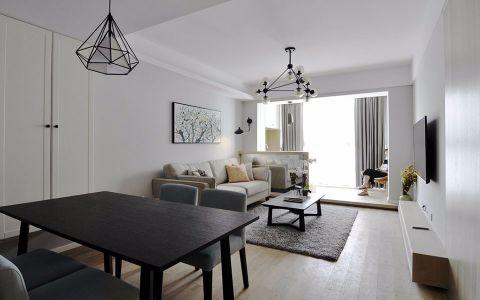 2021现代100平米图片 2021现代公寓装修设计