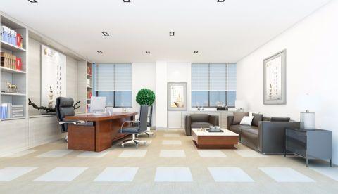 金融写字楼办公室装修效果图