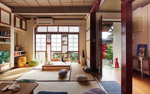 香江花园二居室日式风格装修效果图